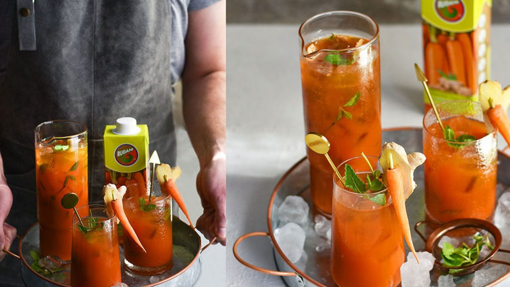 Rugani Carrot & Ginger Iced Tea