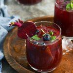 Beet & Floral Iced Tea