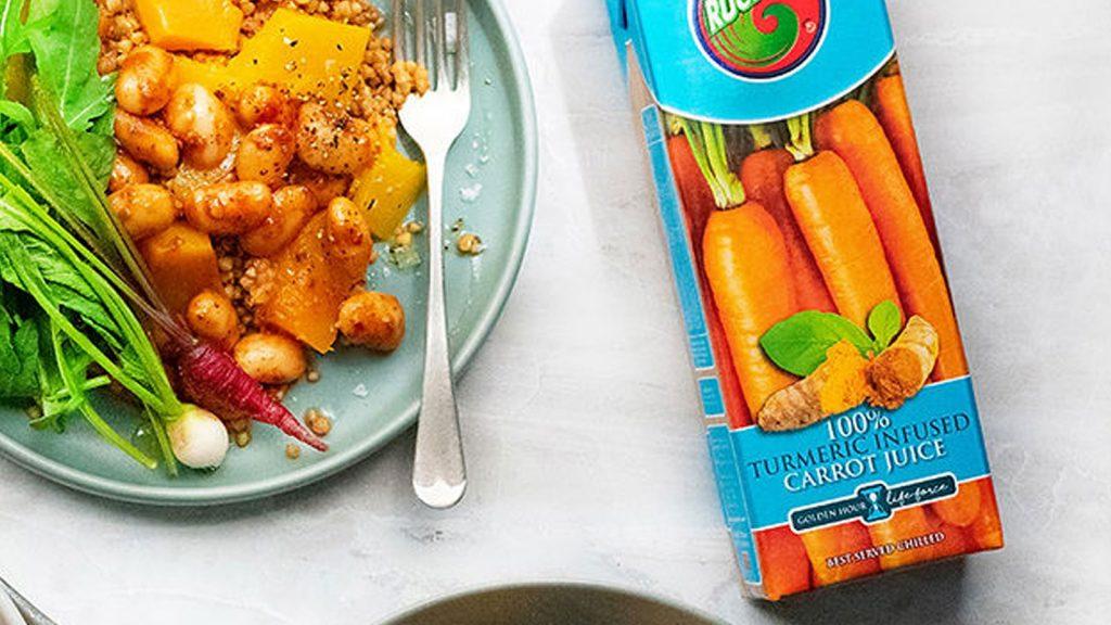 Carrot, Buckwheat, Butternut, Butterbean Salad