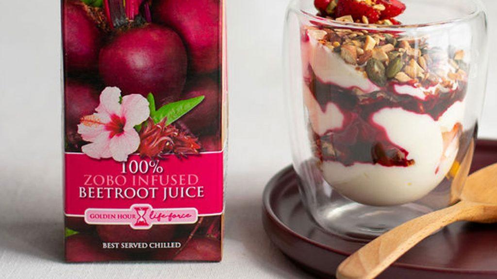 Strawberry & Beetroot Breakfast Bowl