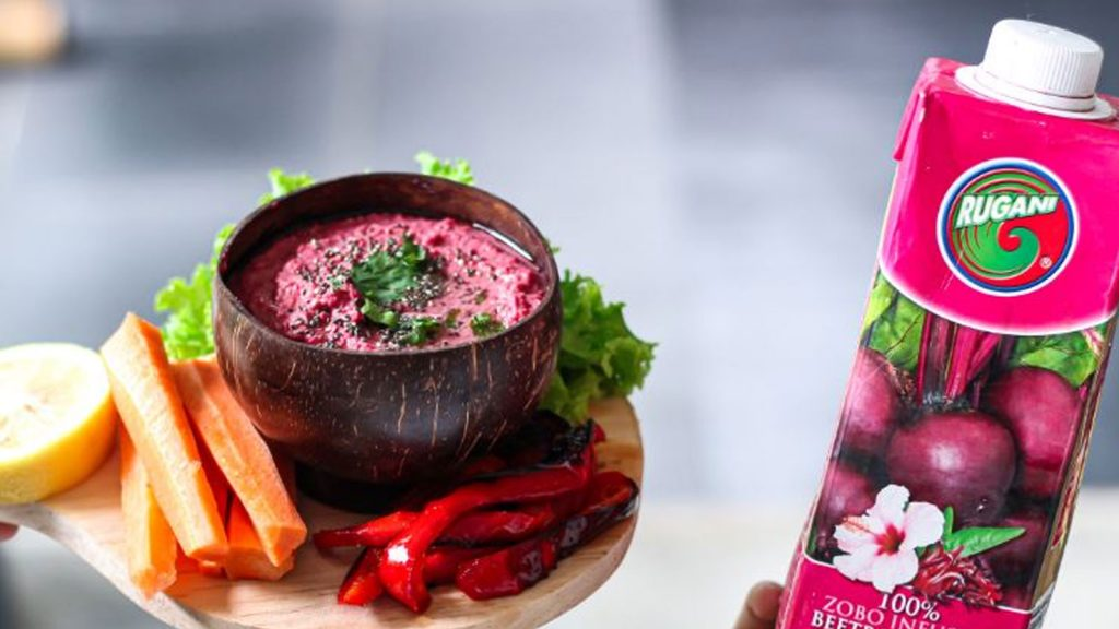 Rugani Beetroot Hummus in under 5 minutes