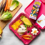 Bunny rabbit themed lunch box