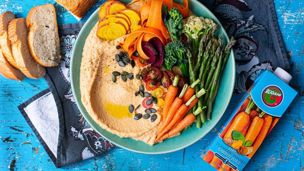 Turmeric Carrot White Bean Harvest Bowl