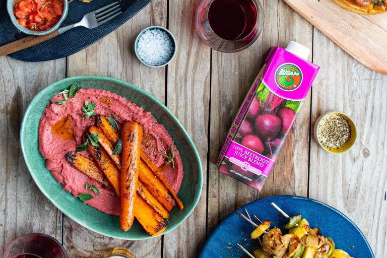 braai roasted carrots