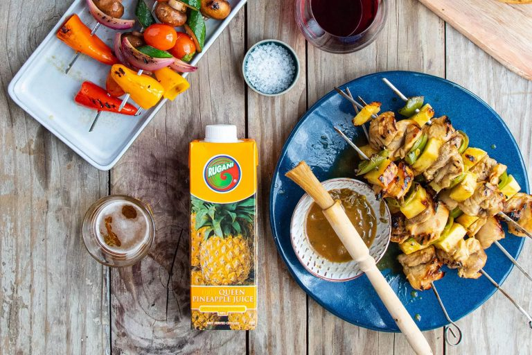 chick thigh skewers