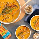 Rugani Turmeric infused Carrot soup