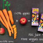 Carrots + Apple + Beetroot = ABC Juice
