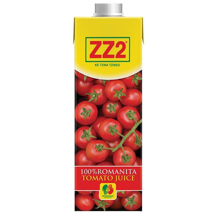 ZZ2 100% Romanita Tomato juice 750ml