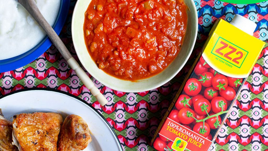 Spicy Tomato Sheba with ZZ2 Tomato Juice