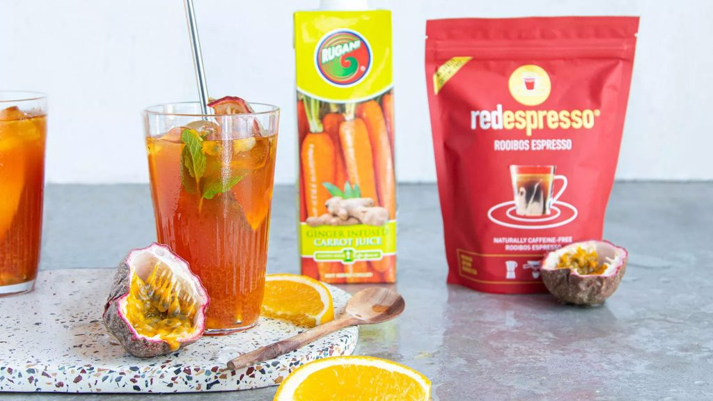 Red African Sunset Iced Tea
