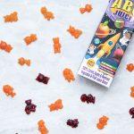 Rugani juice abc juice with gummy bear sweets