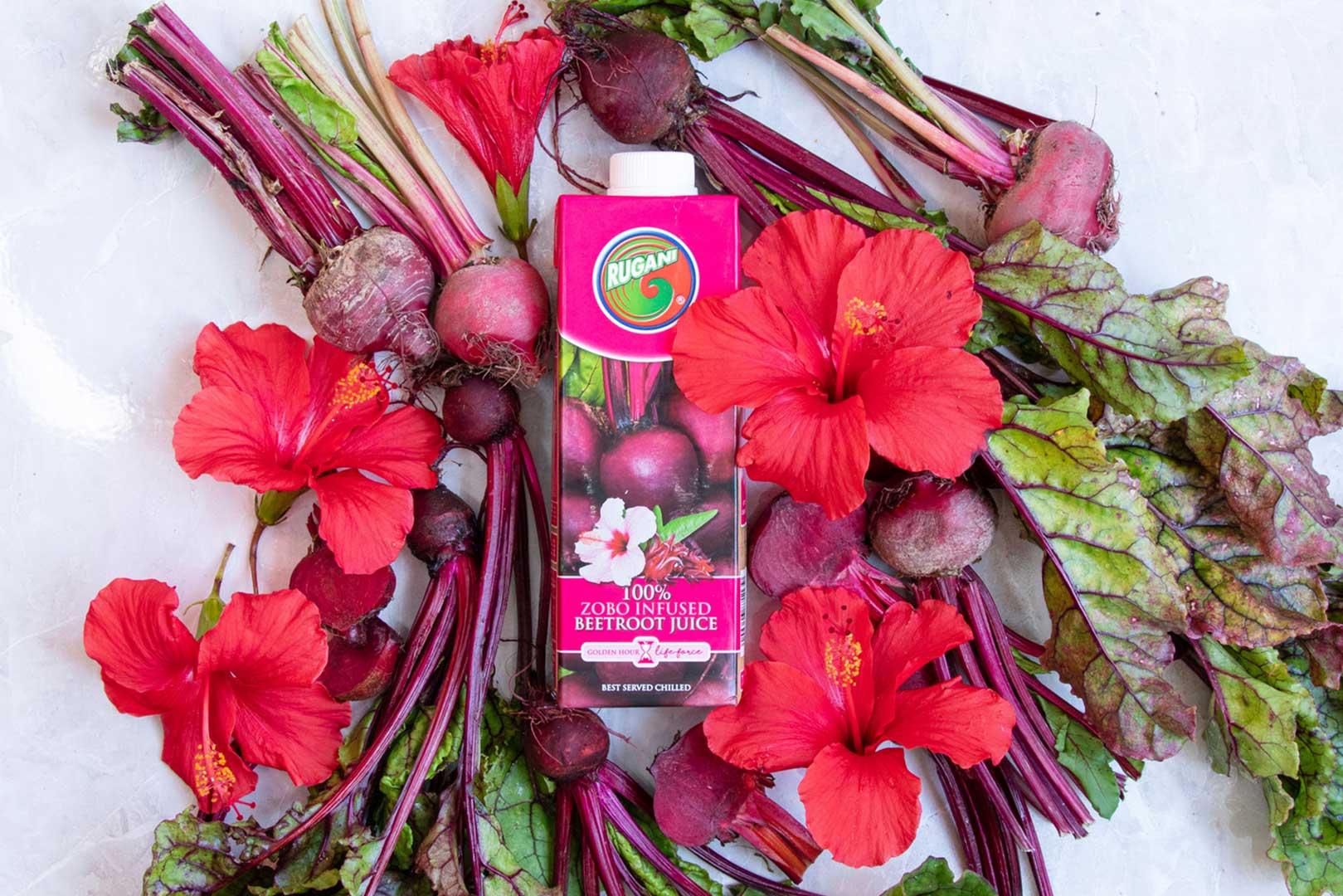 100% zobo infused beetroot juice