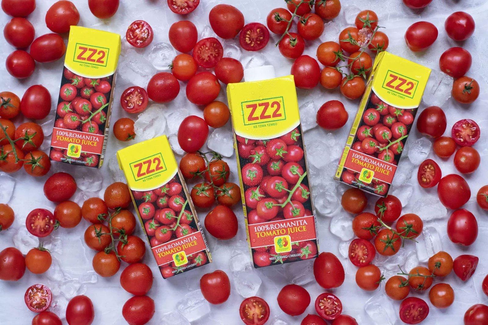 ZZ2 100% Romanita Tomato Juice