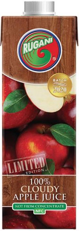 Rugani 100% Cloudy Apple juice 750ml