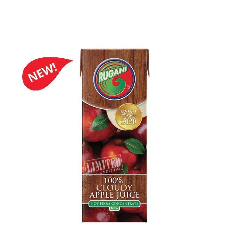 Rugani 100% cloudy apple 330ml juice
