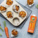 Carrot & Date Muffins
