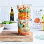 Mason Jar Pata Salad (vegan)