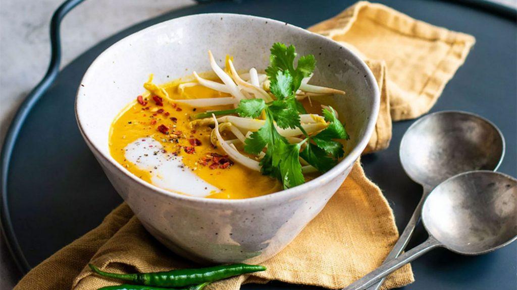 Rugani Thai Carrot and Sweet Potato Soup