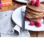 Carrot and beetroot pancakes