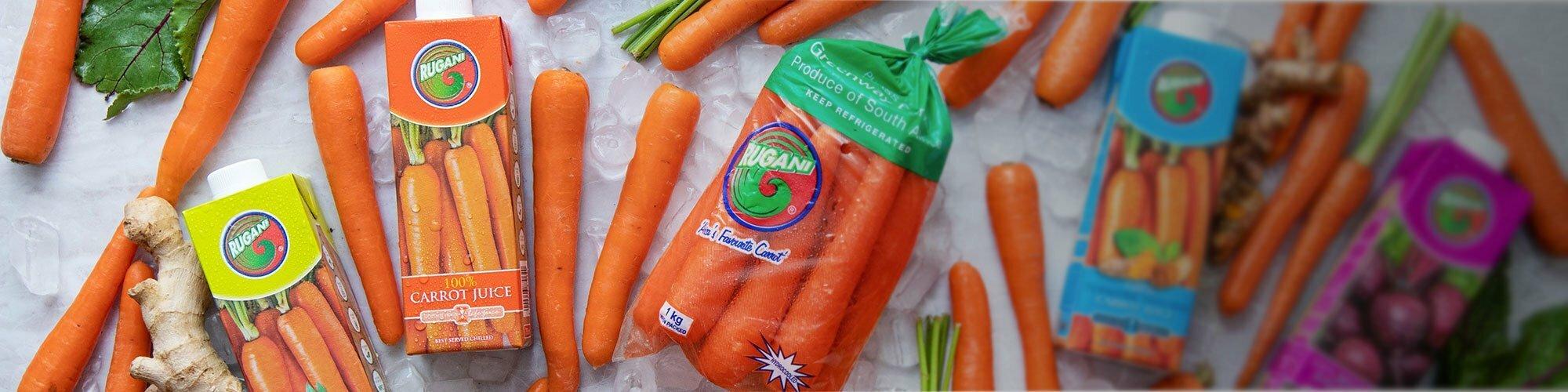 Rugani Juice and carrots